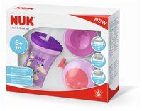Набор NUK Learn to Drink (6+мес) фиолетовый