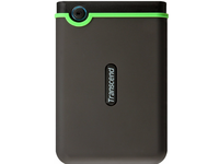 "2.0TB (USB3.1) 2.5"" Transcend ""StoreJet 25A3"", Black, Anti-Shock, One Touch Backup"