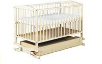 Кроватка-колыбель Radek с выдвижным ящиком, цвет сосны, 120x60, код 41981