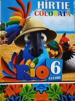 Set de hârtie colorată