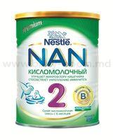 Nestle NAN® 2 Кисломолочный (6-12m) 400 gr.
