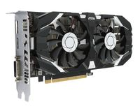 MSI GeForce GTX 1050 Ti 4GT OC / 4GB GDDR5 128Bit