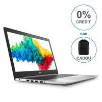 """купить DELL Inspiron 15 5000 Platinum Silver (5570), 15.6"""" FullHD (Intel® Quad Core™ i5-8250U 1.60-3.40GHz(Kaby Lake R),8GB DDR4 RAM, 2.0TB HDD,AMD Radeon™ R7 M530 2GB GDDR5,CardReader,WiFi-AC/BT4.2,3cell,HD 720p Webcam,Backlit KB,RUS,Ubuntu,2.3kg) в Кишинёве"""