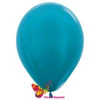 cumpără Balon de latex, turcoaz  nacru - 30 cm în Chișinău