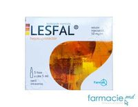 Lesfal sol. inj. 50 mg/m 5 ml N5