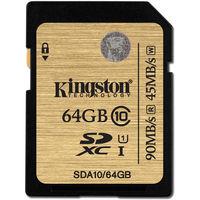 Kingston SDXC 64Gb Class 10 UHS-I (SDA10/64GB)