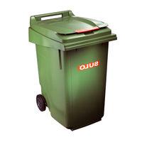 купить Контейнер для мусора 360 л, зеленый в Кишинёве
