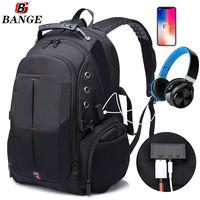 """Рюкзак Bange BG1905 для ноутбука дo 15.6"""", водонепроницаемый, черный"""