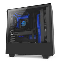 Case NZXT H500 Black Blue (CA-H500B-BL)