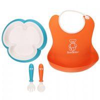 Набор для кормления BabyBjorn Baby Feeding Set Orange