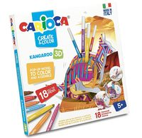 Carioca Create&Color Kangaroo 3D (42903)