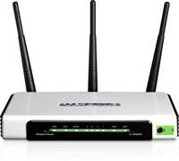 Wireless Router TP-Link TL-WR940N, 4-port, 300Mbps,/g/b,2.4GHz/3T3R