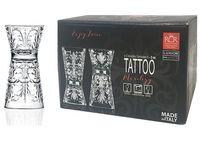 Set pahare pentru lichior Tattoo 6 buc, 60ml