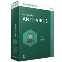 Kaspersky Anti-Virus, 2016 2+1 Devices 1 Year Base Box
