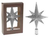 """купить Верхушка елочная звезда 8-ми конечная 25cm """"серебро"""" в Кишинёве"""