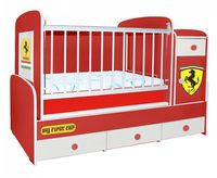 Bambini Comfort Plus Cartoon Ferrari