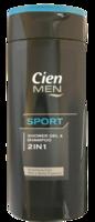 Шампунь и гель для душа 2в1 Cien Men Sport 300 мл