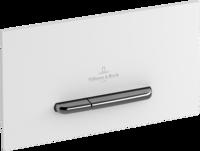 Clapeta de actionare ViConnect 300S, alb mat/crom mat