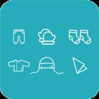 Набор одежды для новорожденного Primul Sens Practic (6 ед.)