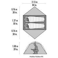 Cort Cascade Design Hubba Hubba NX Tent V7 Green