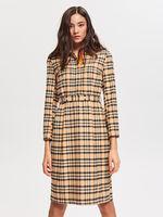 Платье RESERVED Бежевый в клетку wb993-08x