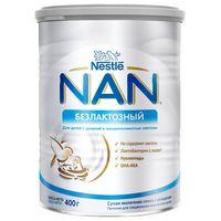 Nestle Nan Безлактозный молочная смесь, 0+меc. 400г