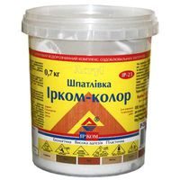 Ирком Шпатлевка Ирком-Колор ИР-23 Орех 0.7кг