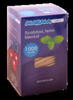 Зубочистки индивидуально упакованные в целлофан, ментол, 1000 шт.