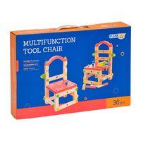 Конструктор деревянный стул
