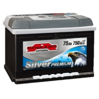 Аккумулятор SNAIDER 75 Ah SilverPremium