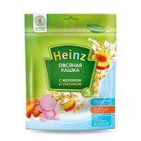 Heinz каша овсяная молочная c персиком, 5+меc. 250г
