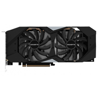 """VGA Gigabyte RTX2060 6GB GDDR6 OC //  GeForce RTX™ 2060, 6GB GDDR6, 192 bit, Engine 1680/1755MHz, Memory 14000MHz, Active Cooling (2x fans), DisplayPort 1.4 *3, HDMI 2.0b *1, Power 8 Pin*1"""