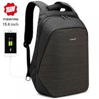 Рюкзак Антивор Tigernu T-B3351 с USB портом и отделением для ноутбука 15.6