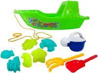 cumpără Set de jucarii pentru nisip in barca 10buc, 33cm în Chișinău