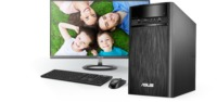 """Asus Desktop K31CD ( Pentium G4400 4Gb 500GB ODD UMA Win10 24L ) Black Intel® H110,4 GB Up to 16 GB DDR4 at MHz,1 x PCI-e x 16,1 x mini PCI-e,4 x SATA 6Gb/s,3.5"""" 500GB Up to 3TB SATA Hard Drive,24X DVD-RW,LAN 10/100/1000/Gigabits Mbps,SonicMaster High Definition 7.1 Channel Audio,Front I/O Ports:1 x 6 -in-1 Card Reader 1 x Headphone,1 x Microphone,2 x USB 3.0,Back I/O Ports:2 x USB 3.1,2 x USB 3.0,2 x USB 2.0,1 x HDMI-Out,1 x VGA(D-Sub)-Out,1 x RJ45 LAN,1 x Line in,1 x Headphone (Speaker Out),1 x Microphone,180 x 350 x 390 mm (WxDxH),Keyboard and Mouse Wired"""