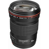 Prime Lens Canon EF 135mm, f/2.0 L USM
