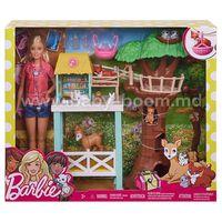 Barbie FCP78 Набор Барби Центр ухода за животными