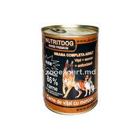 Nutritdog super premium (vitel + morcov) 800 gr