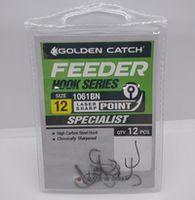 Крючки Golden Catch Feeder Nr12, 12шт