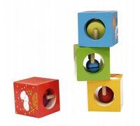 Деревянные кубики-пазлы Classic World