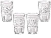 купить Набор стаканов Romantic 4шт, 340ml в Кишинёве
