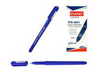 Ручка гелевая PS-001 soft ink,1mm, синяя