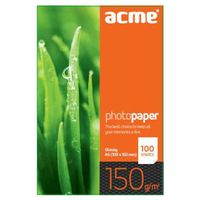ACME Photo Paper (Value pack) A6 (10x15cm) 150 g/m2 100 pack Glossy