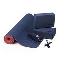 Коврик для йоги Bodhi Yoga Yoga Set Flow 183x60x0.5cm, BY888