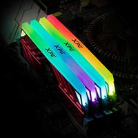 8GB DDR4-3000MHz  ADATA XPG Spectrix D41 RGB, PC24000, CL16-18-18, 1.35V, Black Heatsink