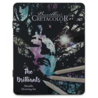 Набор художественных карандашей Cretacolor Brilliants Metallic