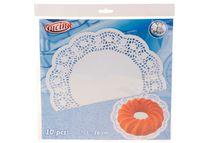 Салфетки сервировочные бумажные Cucina 10шт, D26cm