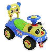 Baby Mix UR-7601 Машинка Панда голубая