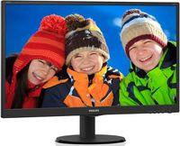 """23.6"""" TFT LED Philips 243V5LSB5 Black Wide"""