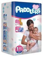 Подгузники Paddlers Mini №1 Newborn 2-5kg 13